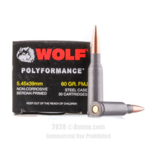 Wolf 5.45x39 ammo for sale